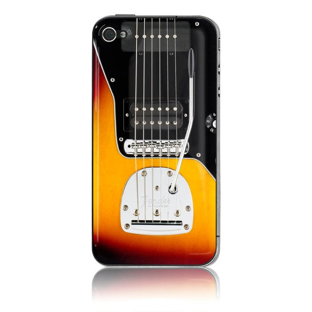 Show The World You Are A Fender Man With This iPhone Skin