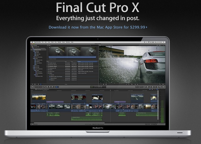 Apple Has No Plans For Final Cut Pro 8, But Theyre Bringing More Features To Final Cut Pro X
