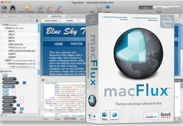 Macgasm Deal: MacFlux Makes Web Design Easy