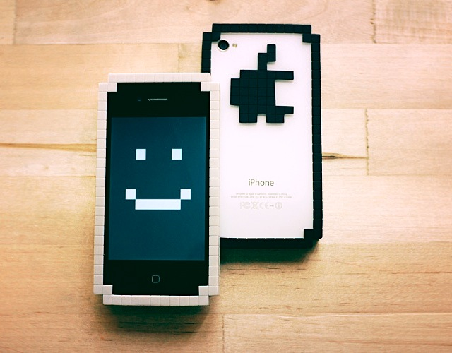 Need A New Bumper? You May Want To Check Out This 8 Bit iPhone Bumper.