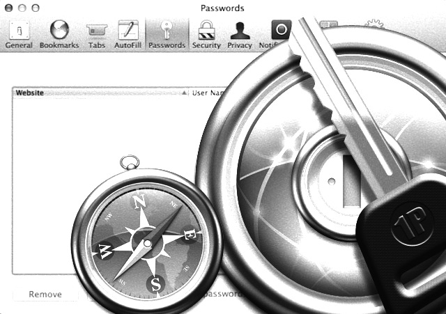 Mountain Lion May Marginalize 1Password And Its Password Functionality