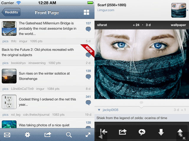 Alien Blue 2.6 Released For iPhone
