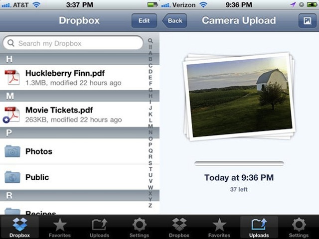 Dropbox Update For iOS Now Available, Removes Upload Limits