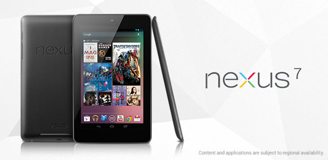 Google Nexus 7 Announced