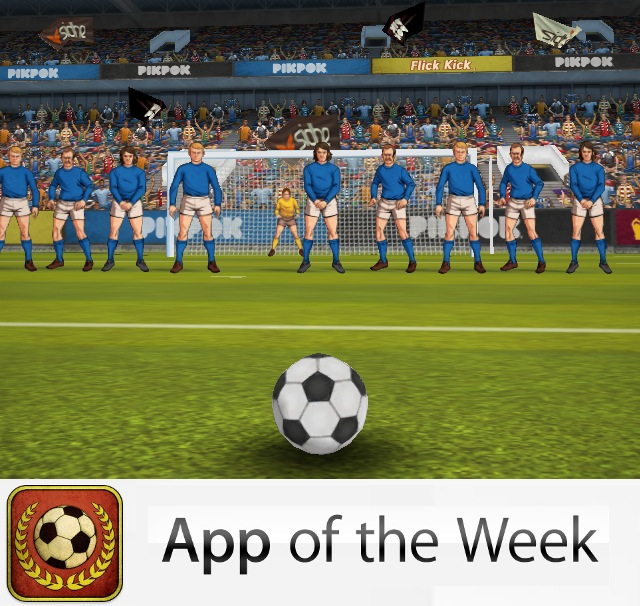 Flick Kick Football - App of the Week