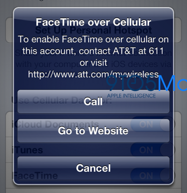 AT&T To Charge For FaceTime Over Cellular