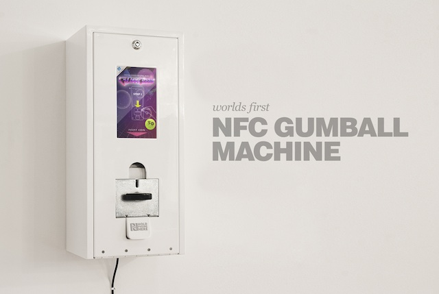 Hacked Gumball Machine Now Serves Up Digital Downloads To Phones