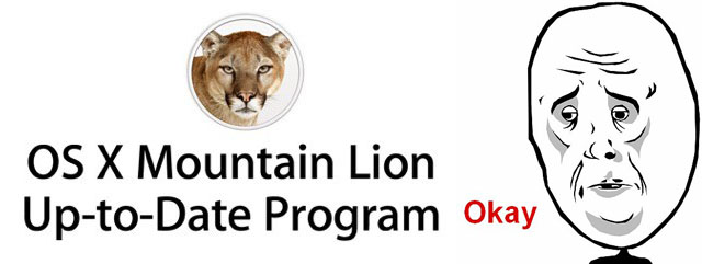 Mountain Lion Up-To-Date Program Launches, 72 Hour Delay
