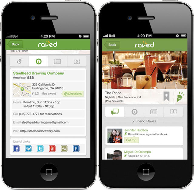 Raved: A New Way To Find Restaurants