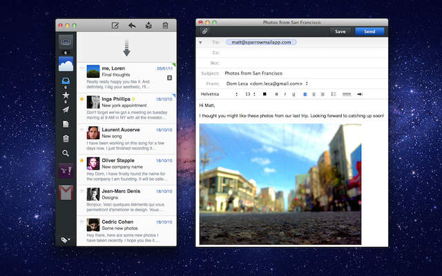 Sparrow For Mac Updated