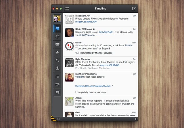 Tweetbot Alpha For Mac Updated, Back On Pace (To Some Extent)