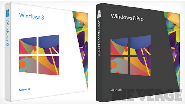 Windows 8 Packaging Revealed