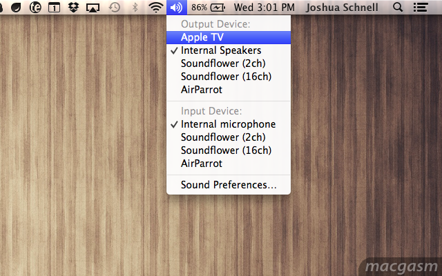 Mountain Lion: Stream All System Audio Over AirPlay To An Apple TV For Free
