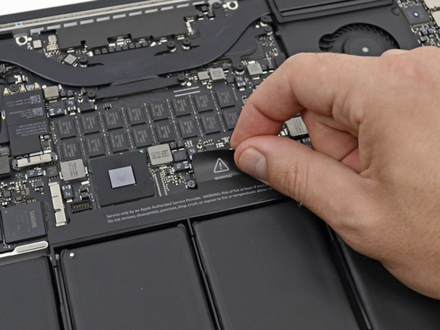 replace the video card macbook pro