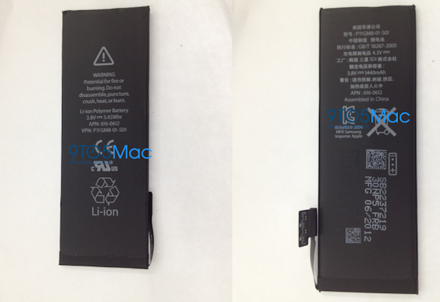 New iPhone Battery Pictured, Slimmer Device and LTE To Come?