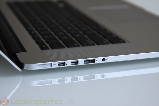Is a 13 inch macbook pro with retina display already in production macgasm - Macbook pro 15 retina ports ...