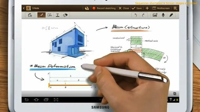 Galaxy Note 10.1 Coming By The End of The Month, Shown On Video