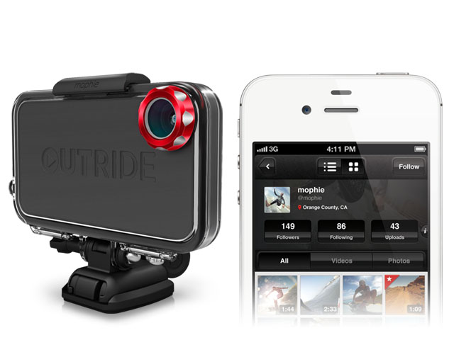 Take Actuation Shots and Video With The OUTRIDE