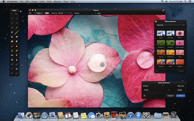 Updated Pixelmator 2.1 Adds iCloud, Mountain Lion Support, And Is Retina Ready