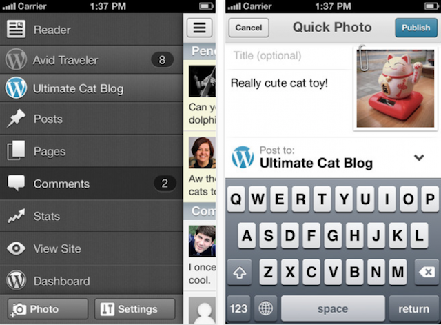 WordPress App For iOS Receives Major Update, New UI, New User Features, Enhanced Performance, And More