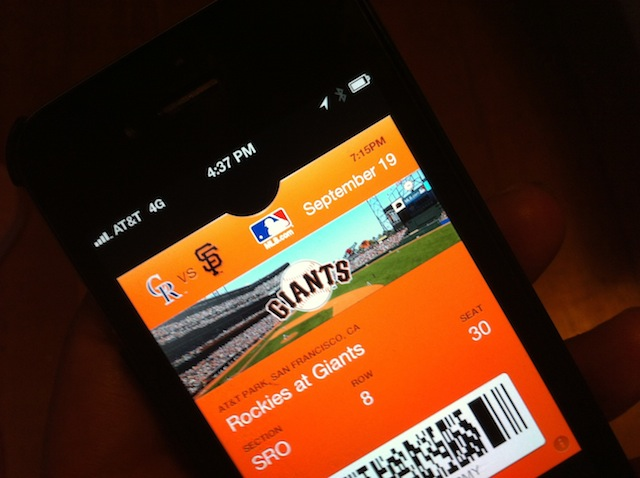 Four New Major League Baseball Teams Now Support Passbook