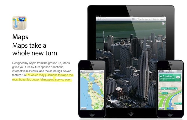 Apple No Longer Thinks Maps Is The Most Powerful Mapping App