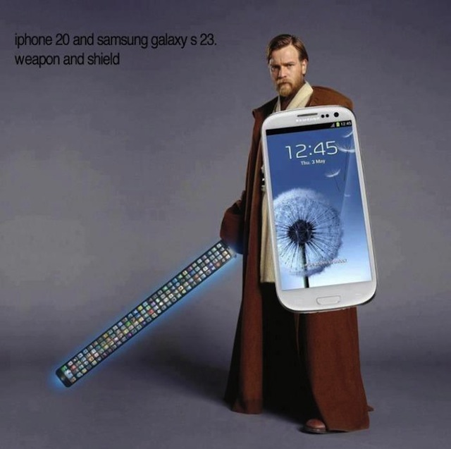 Funny: What Happens When We Hit iPhone 20, and Galaxy S 23? Obi Wan Kenobi Demonstrates!