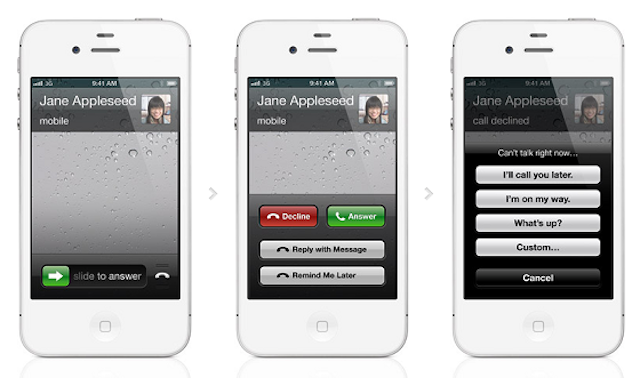 iOS 6 Tip: How To Reply To Calls With Messages, Set Call Back Reminders