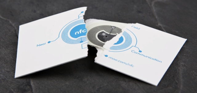 Moo Announces NFC Enabled Business Cards, iPhone Users Cry