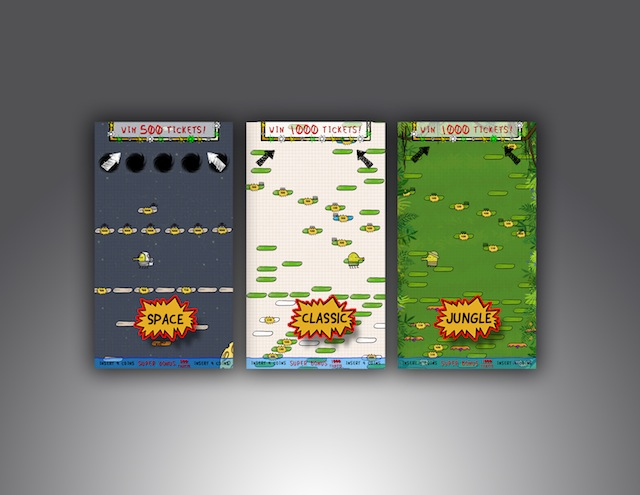 Doodle Jump Pops Up In Arcades, Soon To Be Plush Toys