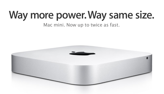The Other Mini Update: Mac Mini Gets Speed Bump