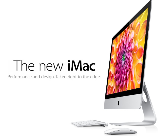 Brand New iMac Gets Unveiled At Todays Apple Event