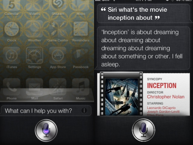Do You Know What The Movie Inception Is About? Siri Does