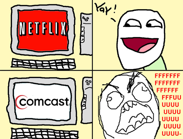Netflix Rips Comcast A New One Over Net Neutrality
