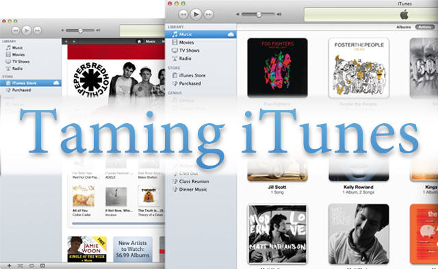 Taming iTunes — Ratings And Smart Playlists