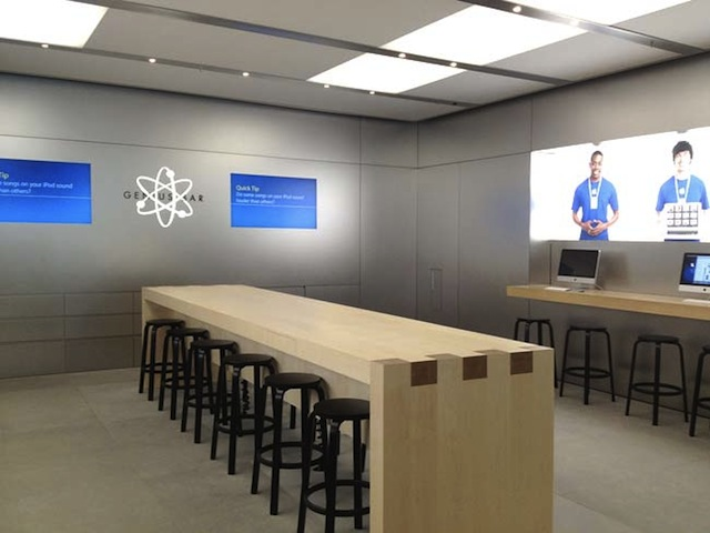 Apple Store Genius Bar To Be Modified To Increase Capacity