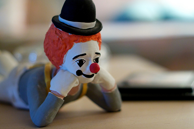 Steve Jobs' iPad Was Used By A Clown After Robbery