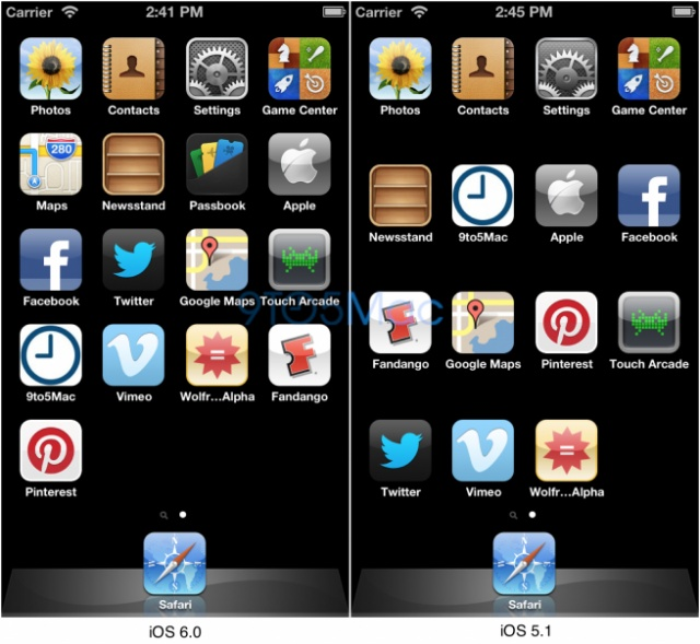 Larger iPhone Confirmed As 5 Rows of Icons Appear in iOS Simulator?
