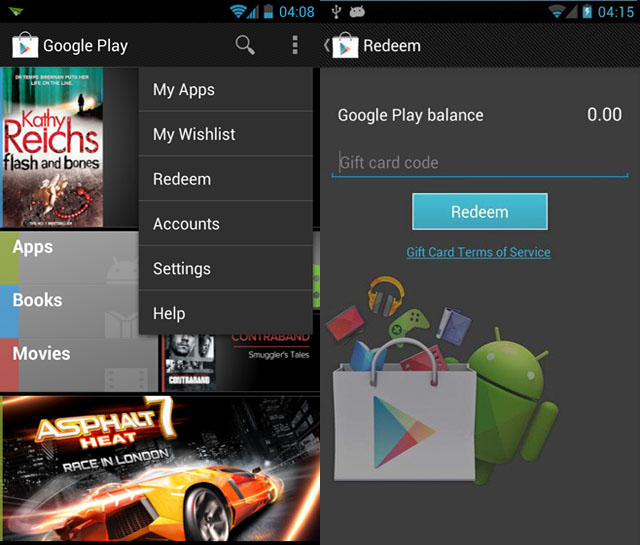 Google Play Gift Cards Coming Soon?